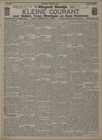 Vliegend blaadje : nieuws- en advertentiebode voor Den Helder 1910-01-12