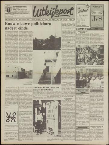 Uitkijkpost : nieuwsblad voor Heiloo e.o. 1988-08-24