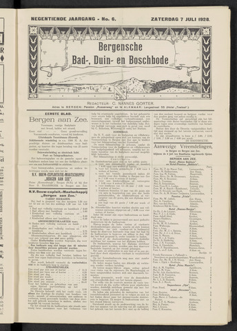 Bergensche bad-, duin- en boschbode 1928-07-07