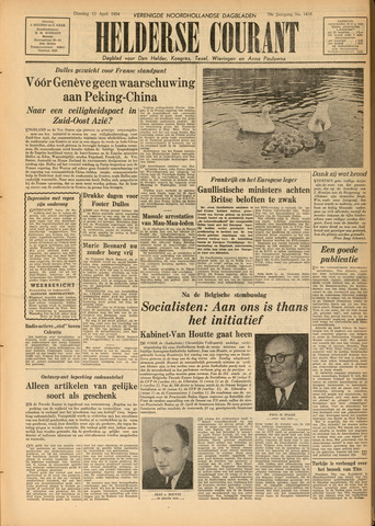 Heldersche Courant 1954-04-13