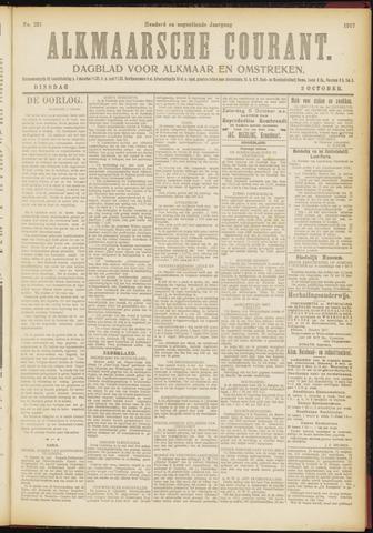 Alkmaarsche Courant 1917-10-02