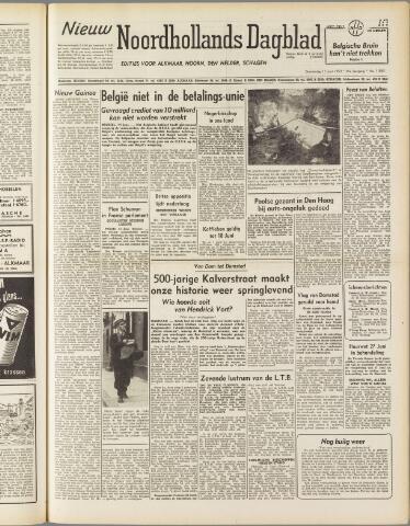 Nieuw Noordhollandsch Dagblad : voor Alkmaar en omgeving 1950-06-15