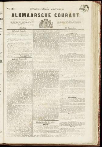 Alkmaarsche Courant 1865-08-20