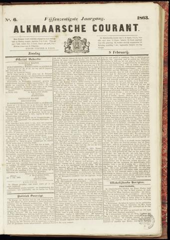 Alkmaarsche Courant 1863-02-08