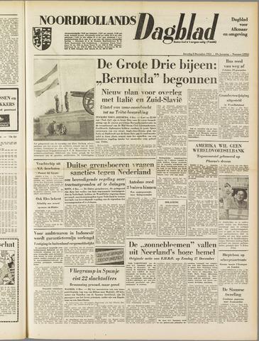 Noordhollands Dagblad : dagblad voor Alkmaar en omgeving 1953-12-05