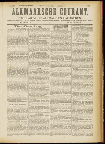 Alkmaarsche Courant 1915-11-20