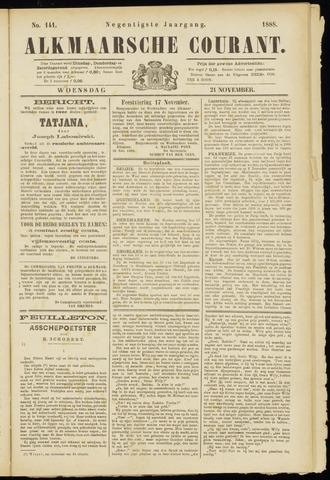 Alkmaarsche Courant 1888-11-21