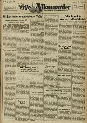 De Vrije Alkmaarder 1947-04-26