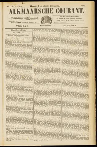 Alkmaarsche Courant 1902-10-03