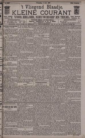Vliegend blaadje : nieuws- en advertentiebode voor Den Helder 1897-06-09