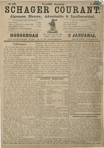 Schager Courant 1868