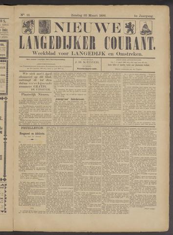 Nieuwe Langedijker Courant 1896-03-22