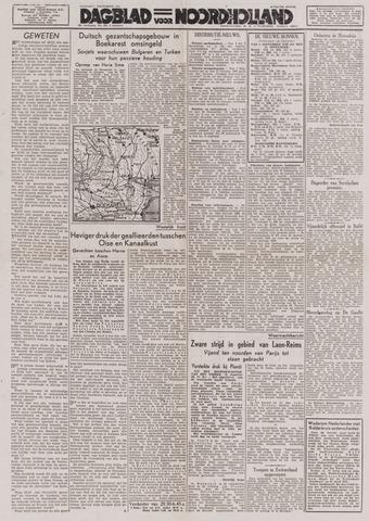 Dagblad Noord-Holland, Schager editie 1944-09-01