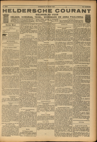 Heldersche Courant 1923-03-22