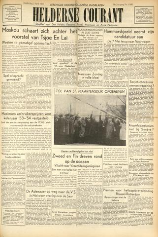 Heldersche Courant 1953-04-02