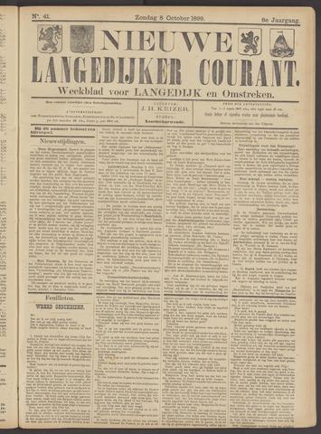 Nieuwe Langedijker Courant 1899-10-08
