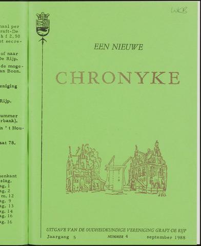 Een Nieuwe Chronyke van het Schermereiland 1988-09-01