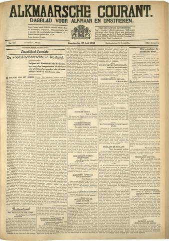 Alkmaarsche Courant 1933-07-27
