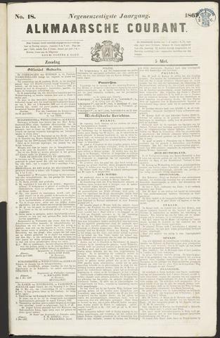 Alkmaarsche Courant 1867-05-05