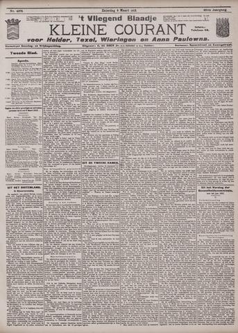 Vliegend blaadje : nieuws- en advertentiebode voor Den Helder 1912-03-09