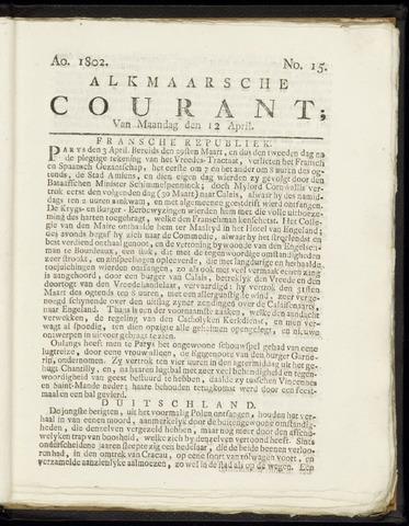 Alkmaarsche Courant 1802-04-12