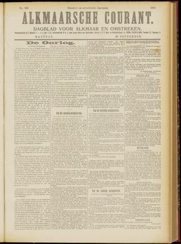 Alkmaarsche Courant 1915-09-20