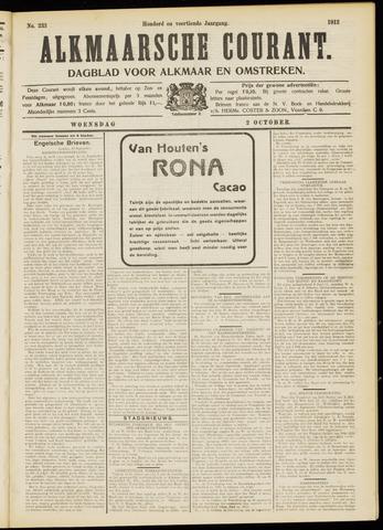 Alkmaarsche Courant 1912-10-02