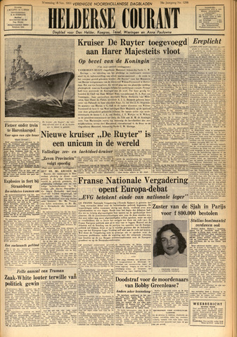 Heldersche Courant 1953-11-18