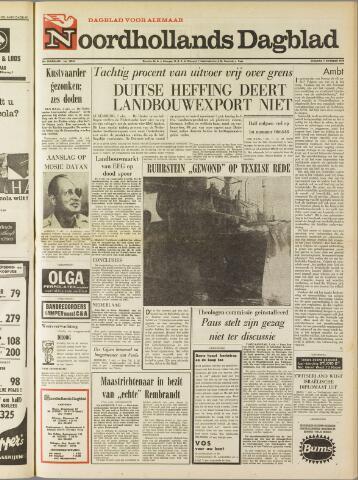 Noordhollands Dagblad : dagblad voor Alkmaar en omgeving 1969-10-07