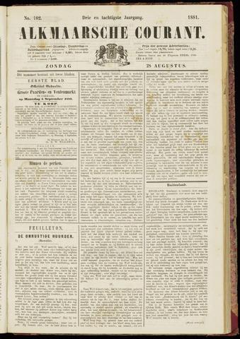Alkmaarsche Courant 1881-08-28