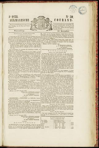 Alkmaarsche Courant 1852-12-13
