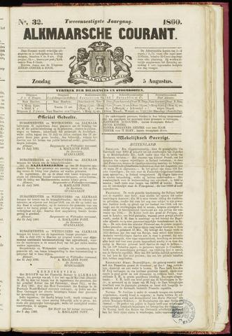 Alkmaarsche Courant 1860-08-05