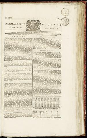 Alkmaarsche Courant 1832-10-08
