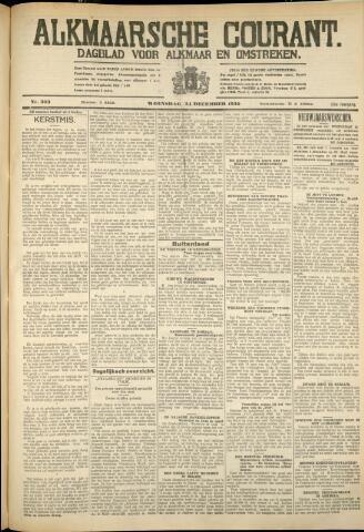 Alkmaarsche Courant 1930-12-24