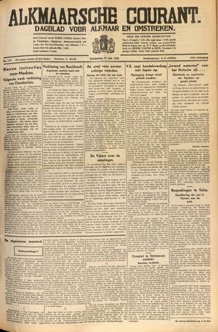 Alkmaarsche Courant 1939-07-27