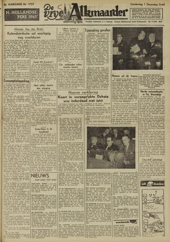 De Vrije Alkmaarder 1949-12-01
