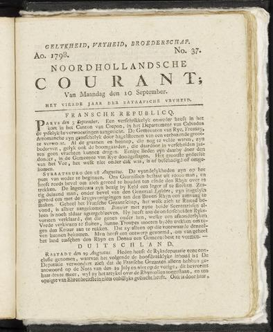 Noordhollandsche Courant 1798-09-10
