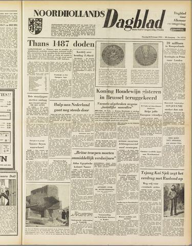 Noordhollands Dagblad : dagblad voor Alkmaar en omgeving 1953-02-24