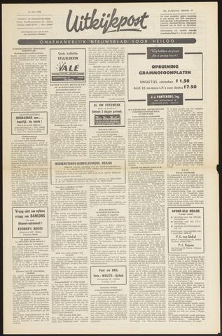 Uitkijkpost : nieuwsblad voor Heiloo e.o. 1968-07-31