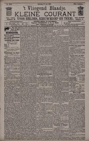 Vliegend blaadje : nieuws- en advertentiebode voor Den Helder 1895-07-27