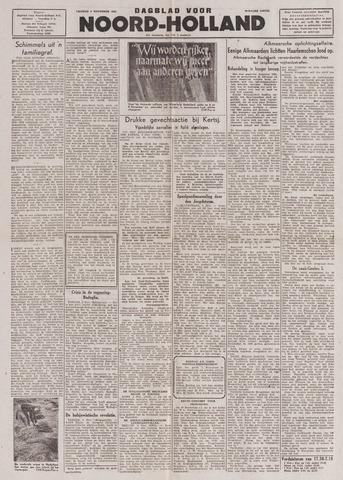 Dagblad Noord-Holland, Schager editie 1943-11-05