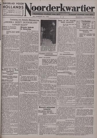 Dagblad voor Hollands Noorderkwartier 1941-11-03
