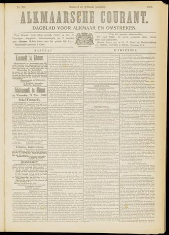Alkmaarsche Courant 1913-11-17