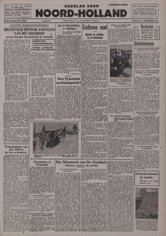 Dagblad Noord-Holland, Schager editie 1942-12-11