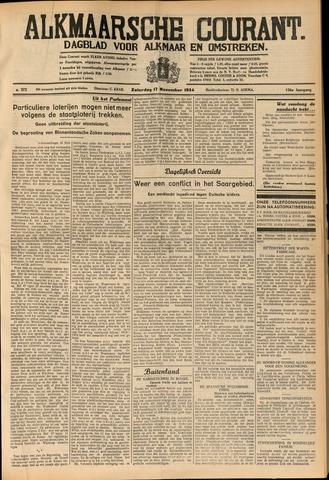 Alkmaarsche Courant 1934-11-17