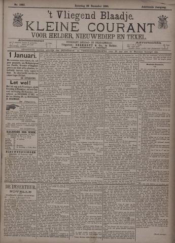 Vliegend blaadje : nieuws- en advertentiebode voor Den Helder 1890-12-20