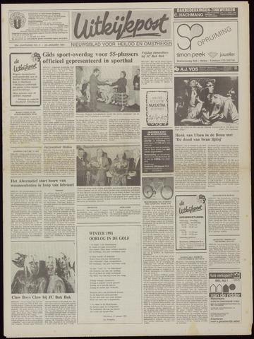 Uitkijkpost : nieuwsblad voor Heiloo e.o. 1991-01-23