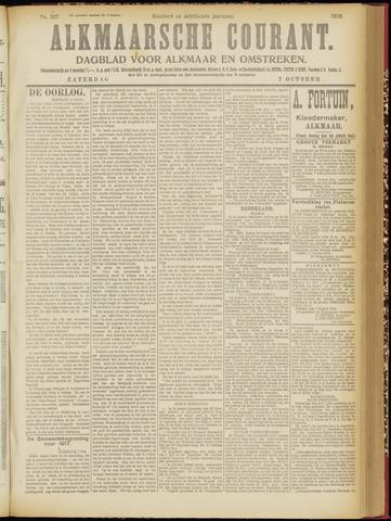 Alkmaarsche Courant 1916-10-07