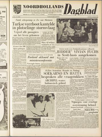 Noordhollands Dagblad : dagblad voor Alkmaar en omgeving 1958-03-03