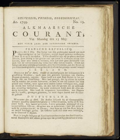 Alkmaarsche Courant 1799-05-13